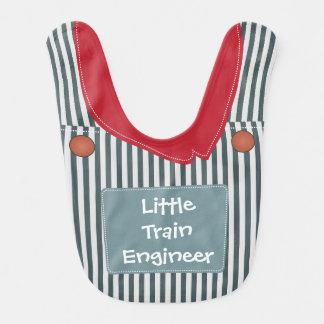 Wenig Zug-Ingenieur-Gesamt-Baby-Schellfisch Babylätzchen