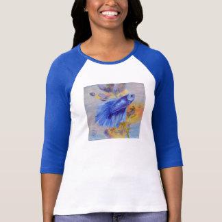 Wenige blaue Betta Fische T-Shirt