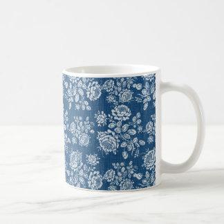 Wenige Denim-Rosen Kaffee Tasse