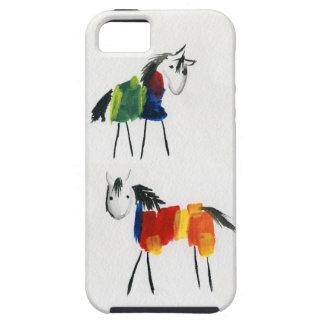 Wenige Regenbogen-Ponys iPhone 5 Hüllen