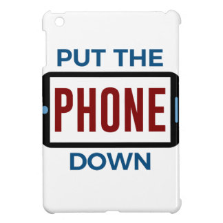 Weniger Telefon mehr Verbindungs-Menschen-Touch iPad Mini Hülle