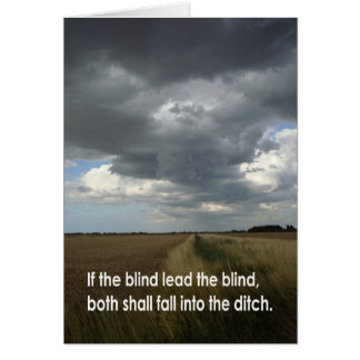 Wenn das blinde… karte