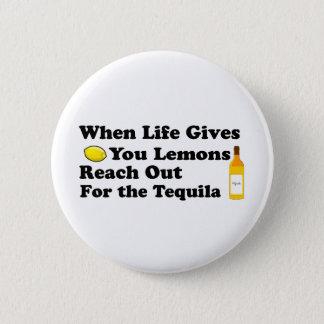 Wenn das Leben gibt Ihnen Zitronen…. Runder Button 5,1 Cm