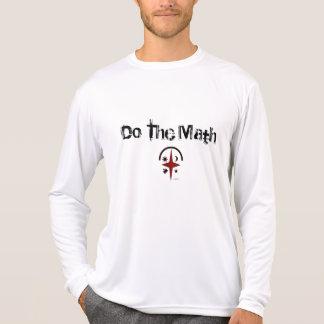 Wenn der Fluss kommt….Tun Sie Mathe T-Shirt