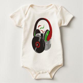 Wenn die Musik gut ist Baby Strampler