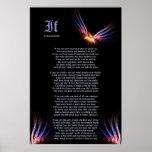 Wenn durch Rudyard Kipling mit Druck Phoenix Fireb Posterdrucke