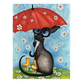 Wenn es jedes Mal I regnete, das an Sie durch Postkarten