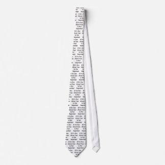 Wenn es nicht Abour Autos ist nicht wichtig ist Personalisierte Krawatten