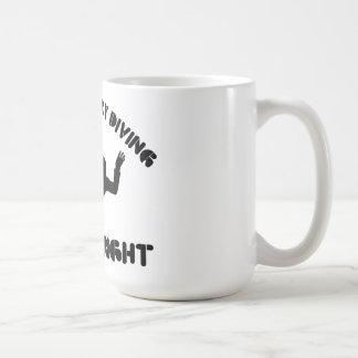 Wenn es nicht Fallschirmspringen ist, ist es nicht Kaffeetasse