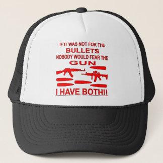 Wenn es nicht für die Kugeln war, würde niemand Truckerkappe