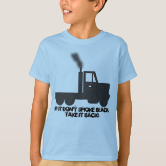 Wenn es nicht tut, scherzt Rauch-Schwarzes T-Stück T-Shirt