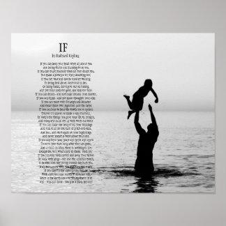 Wenn Gedicht durch Rudyard Kipling Plakate