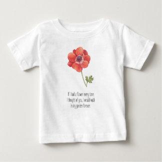 Wenn ich eine Blume hatte Baby T-shirt