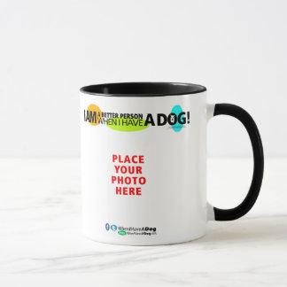 Wenn ich eine Tasse des HundB&W sie