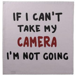 Wenn ich meine Kamera nicht nehmen kann… Stoffserviette