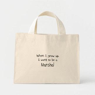 Wenn ich mich aufwachse, wollen Sie, um ein Marsch Einkaufstasche