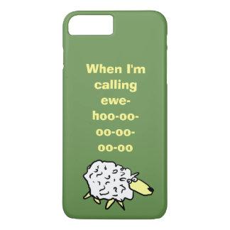 Wenn ich Sie-hoo-oo-oo-oo-oo-oo anrufe iPhone 8 Plus/7 Plus Hülle
