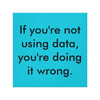 wenn Ihr nicht unter Verwendung der Daten, Ihrer Gespannter Galeriedruck
