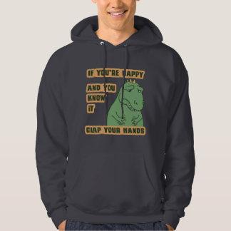 Wenn Ihre Arme erreichen Kapuzensweater