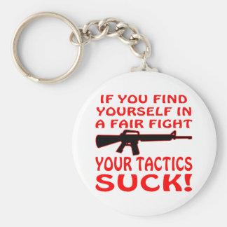 Wenn in einem angemessenen Kampf Ihre Taktiken sic Schlüsselanhänger