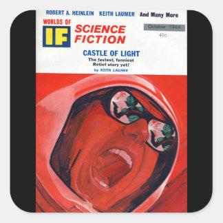 Wenn - Kunst 1964-10_Pulp Quadratischer Aufkleber