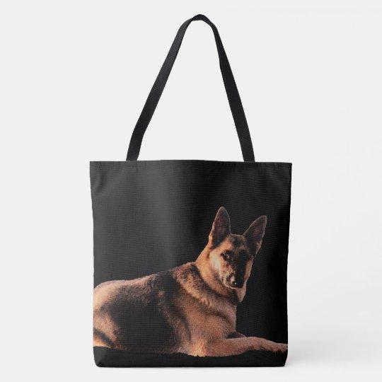 Wenn mein Schäferhund nicht glücklichen niemanden Tasche