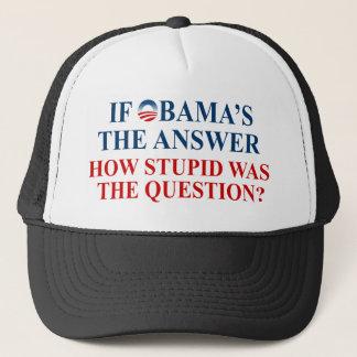 wenn Obamas das Antwort-Licht-Shirt Truckerkappe
