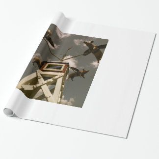 Wenn Schweine fliegen Geschenkpapier