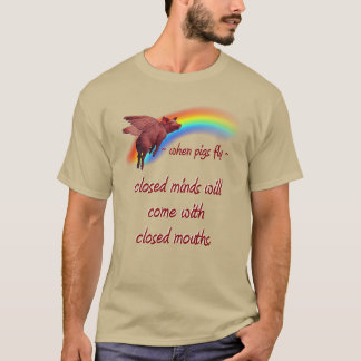 wenn Schweine… fliegen T-Shirt