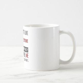 Wenn Sie Badminton nicht cool mögen Kaffeetasse