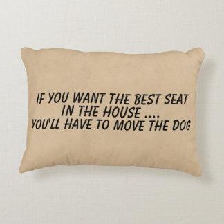 Wenn Sie die beste Sitzbewegung der Hund wollen Zierkissen