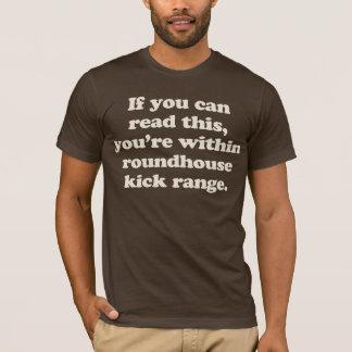 wenn Sie dieses lesen können, sind Sie innerhalb T-Shirt
