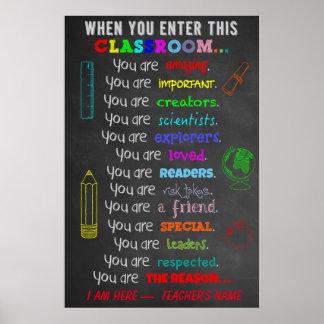 Wenn Sie dieses Poster