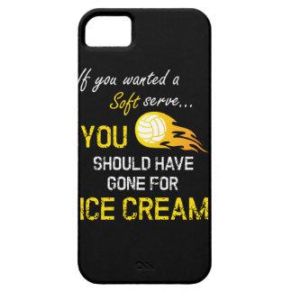 Wenn Sie ein weiches wollten, dienen Sie Eiscreme iPhone 5 Hülle