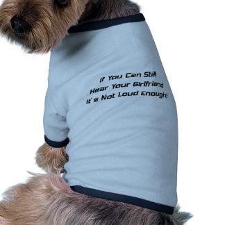 Wenn Sie Ihre Freundin noch hören können sein Hundebekleidung
