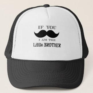 Wenn Sie mich fragen müssen sind der kleine Bruder Truckerkappe