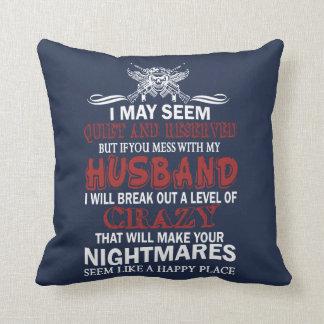 Wenn Sie mit meinem Ehemann verwirren Kissen