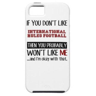 Wenn Sie nicht International-Regel-Fußball-Gurren iPhone 5 Hülle