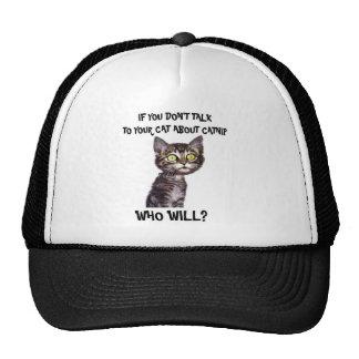 Wenn Sie nicht mit Ihrer Katze über Katzenminze Retromützen