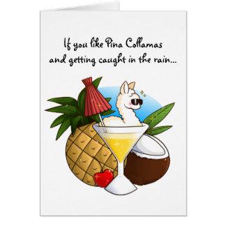 Wenn Sie Pina Collamas mögen Karte