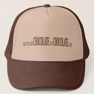 Wenn Sie Schokoladen-Hut mögen Truckerkappe