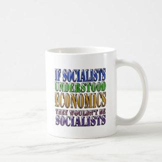 Wenn Sozialisten Wirtschaft… verstanden Kaffeetasse