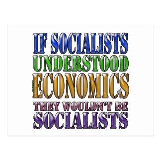 Wenn Sozialisten Wirtschaft… verstanden Postkarte