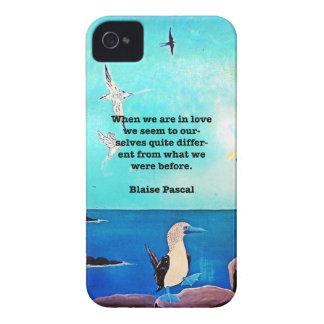 Wenn wir in der Inspirational Liebe sind, zitieren iPhone 4 Cover