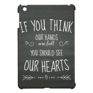Wenn YouThink unsere Hände volle… große Familie iPad Mini Hülle