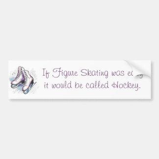 Wenn Zahl Skaten einfach war, würde es Hoc genannt Autoaufkleber