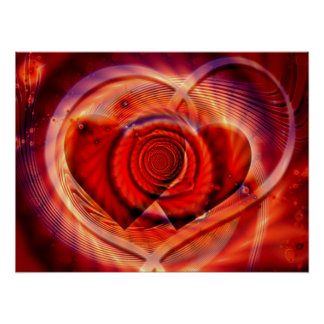 Wenn zwei Herzen eins werden Posterdrucke