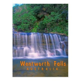 Wentworth-Fälle, Australien Postkarte