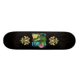 Wer DA-König? Louisiana Bedrucktes Skateboard