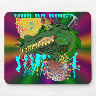 Wer DA-König V-1-C Mousepad